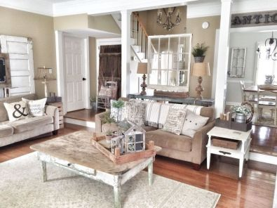 + 17 Reason You Didn't Get Living Room Ideas Rustic Farmhouse Style Paint Colors 42