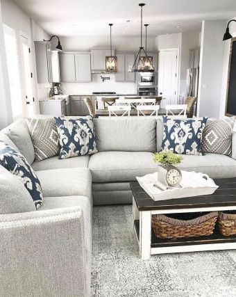+ 17 Reason You Didn't Get Living Room Ideas Rustic Farmhouse Style Paint Colors 60