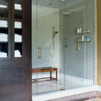17+ Master Bathroom Shower Ideas Walk In Tile Benches 52