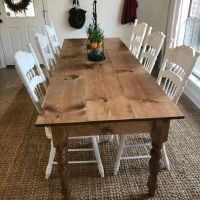 + 30 Details Of Farmhouse Dining Room Table Diy Farm House 13