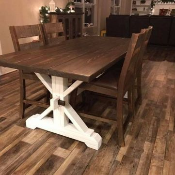 37 Top Farmhouse Table Diy Plans Do It Yourself Dining Rooms