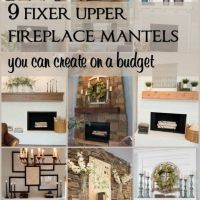 + 45 Definitions Of Mantel Decorating Ideas Farmhouse Style Chip And Joanna Gaines 10