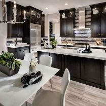 42 Kitchen Ideas Dark Cabinets Light Floors Countertops Help