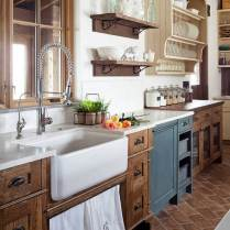 +41 To Consider For Farmhouse Kitchen Cabinets Design Ideas 2
