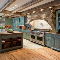 +41 To Consider For Farmhouse Kitchen Cabinets Design Ideas 39