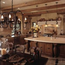 +41 To Consider For Farmhouse Kitchen Cabinets Design Ideas 68