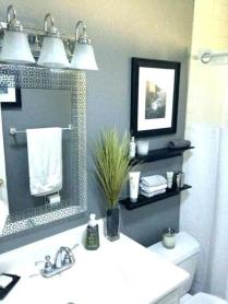 41 + Types Of Guest Bathroom Ideas Half Baths Floating Shelves 29