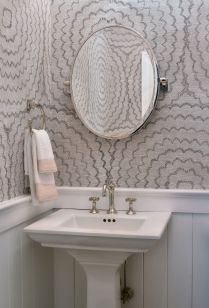 41 + Types Of Guest Bathroom Ideas Half Baths Floating Shelves 35