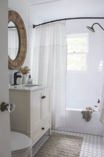 42 Getting Smart With Small Bathroom Ideas Decorating Inspiration Shower Curtains 53