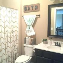 42 Getting Smart With Small Bathroom Ideas Decorating Inspiration Shower Curtains 8