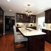 +44 Finding Dark Kitchen Cabinets And Light Granite 13