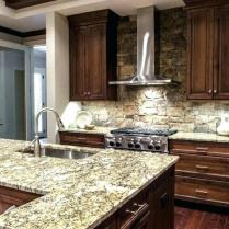 +44 Finding Dark Kitchen Cabinets And Light Granite 138