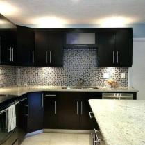 +44 Finding Dark Kitchen Cabinets And Light Granite 17