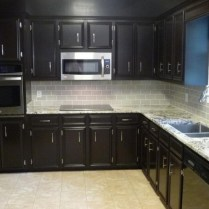 +44 Finding Dark Kitchen Cabinets And Light Granite 60