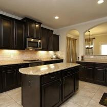 +44 Finding Dark Kitchen Cabinets And Light Granite 7