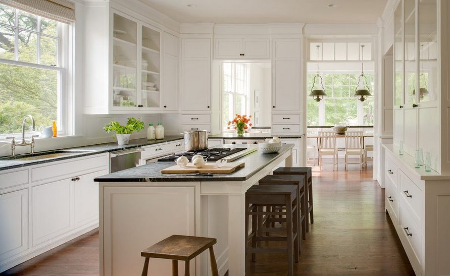 45 The Top Secret Truth on Soapstone Countertops Kitchen White Cabinets Revealed