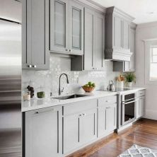 +45 White Shaker Kitchen Cabinets Countertops No Longer A Mystery 73
