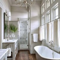 46+That Will Motivate You Farmhouse Bathroom Colors Rustic 114
