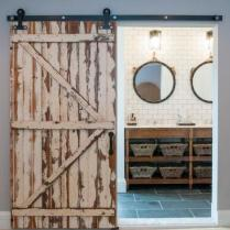 46+That Will Motivate You Farmhouse Bathroom Colors Rustic 28
