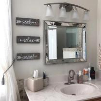 46+That Will Motivate You Farmhouse Bathroom Colors Rustic 35