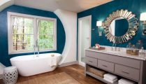 46+That Will Motivate You Farmhouse Bathroom Colors Rustic 48