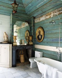 46+That Will Motivate You Farmhouse Bathroom Colors Rustic 73