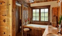 46+That Will Motivate You Farmhouse Bathroom Colors Rustic 88