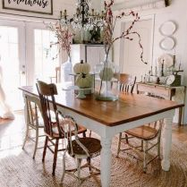 35+ Natural Rustic And Classic Glam Kitchen Decorating Ideas 208
