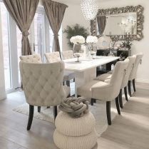 +37 Create A Comfortable Dining Room 265