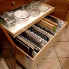 39+ Inspiring Kitchen Cabinet Organization Ideas 17