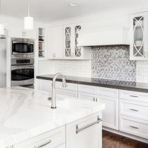 +43 White Colors Of Stone Countertops Ideas 53