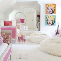 35 We Love Dream Rooms For Teens Girls Bedrooms Wall Art 172