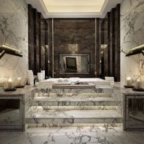 40 Awesome Marble In Shower Design Ideas To Inspire You 142