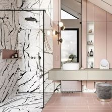40 Awesome Marble In Shower Design Ideas To Inspire You 157