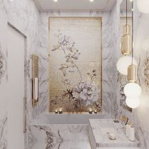 40 Awesome Marble In Shower Design Ideas To Inspire You 265