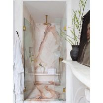 40 Awesome Marble In Shower Design Ideas To Inspire You 49