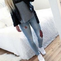 What Everyone Does When It Comes To Fall Outfits For Teen Girls For School Casual Jeans 191