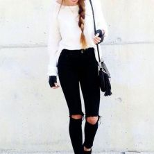 What Everyone Does When It Comes To Fall Outfits For Teen Girls For School Casual Jeans 194