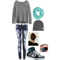 What Everyone Does When It Comes To Fall Outfits For Teen Girls For School Casual Jeans 46
