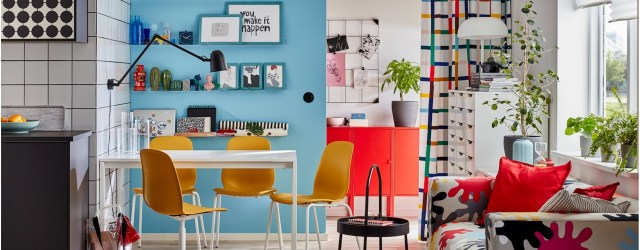 Make Your Small Dining Room Colorful And Do It All There