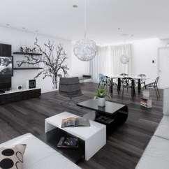 Black And White Living Rooms Fans For Room Design Worth Copying Decor Inspirator