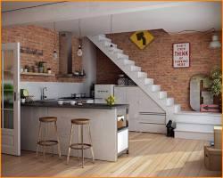 Stunning Kitchen Under Stairs Ideas   Decor Inspirator