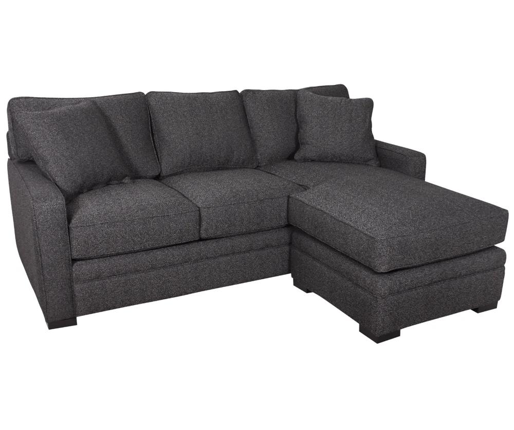 Sofa With Reversible Chaise Lounge Mercury Row Leilani