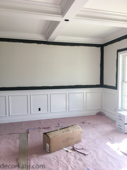 Coffered Ceiling in Formal Dining Room