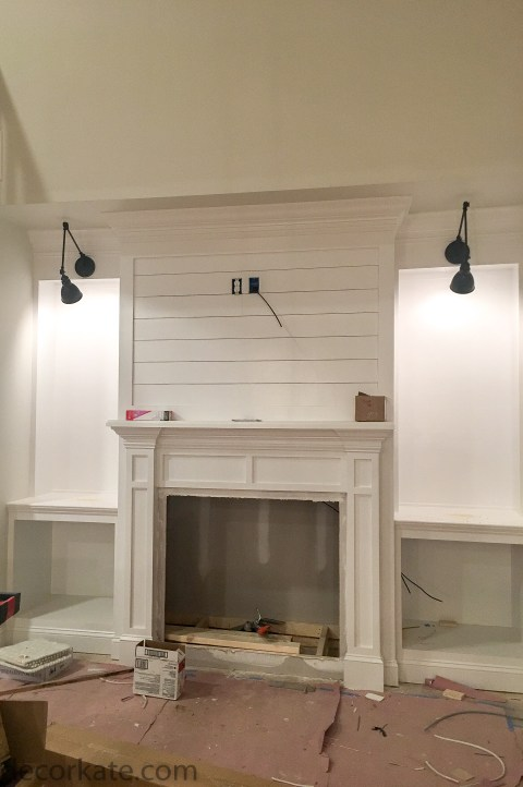 Fireplace With Built-Ins