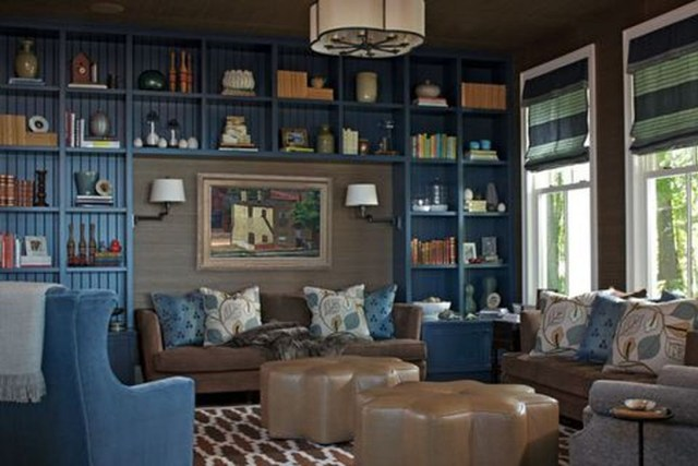 Smart Library Design Ideas For Home To Add To Your List 06