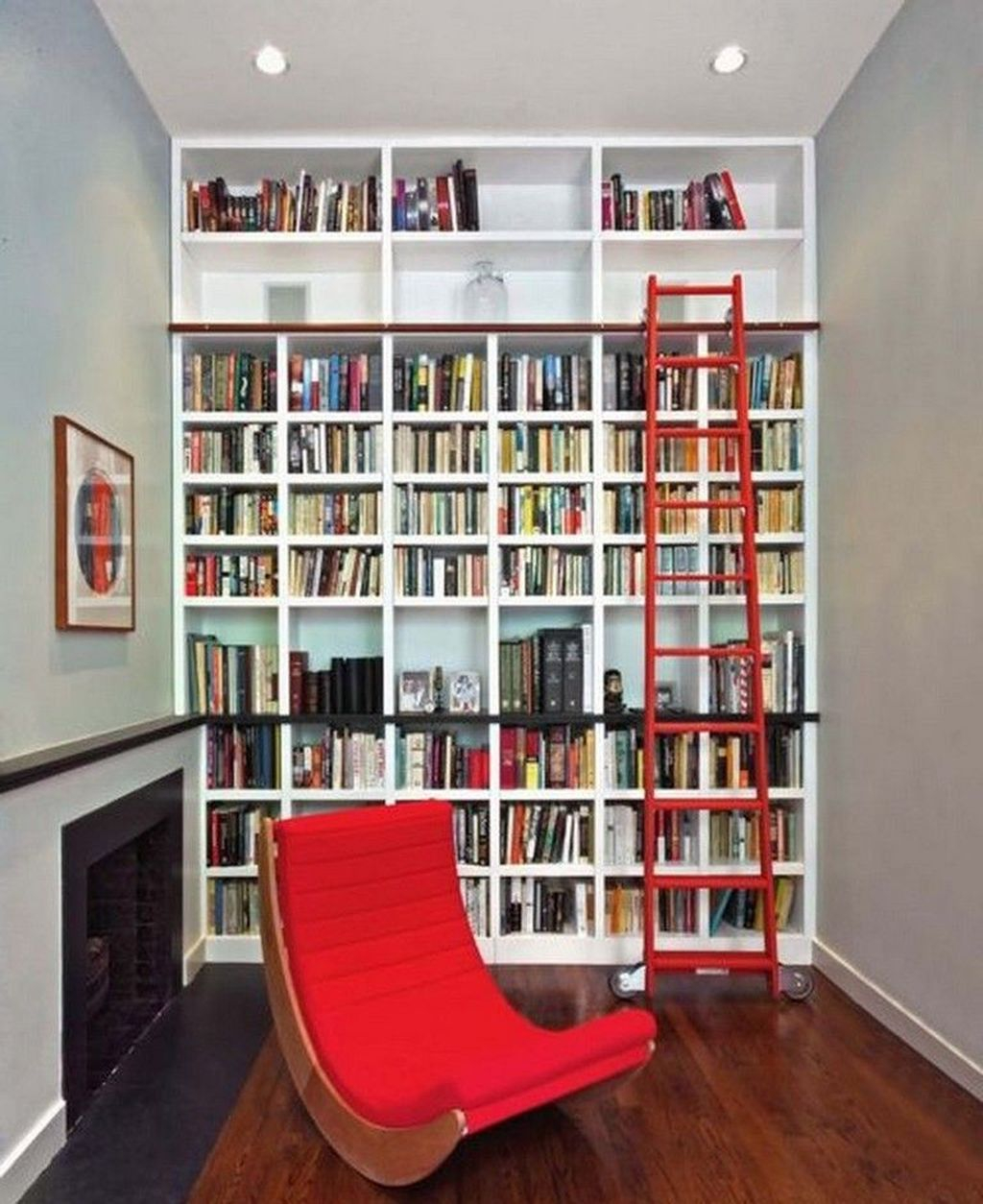 Smart Library Design Ideas For Home To Add To Your List 11
