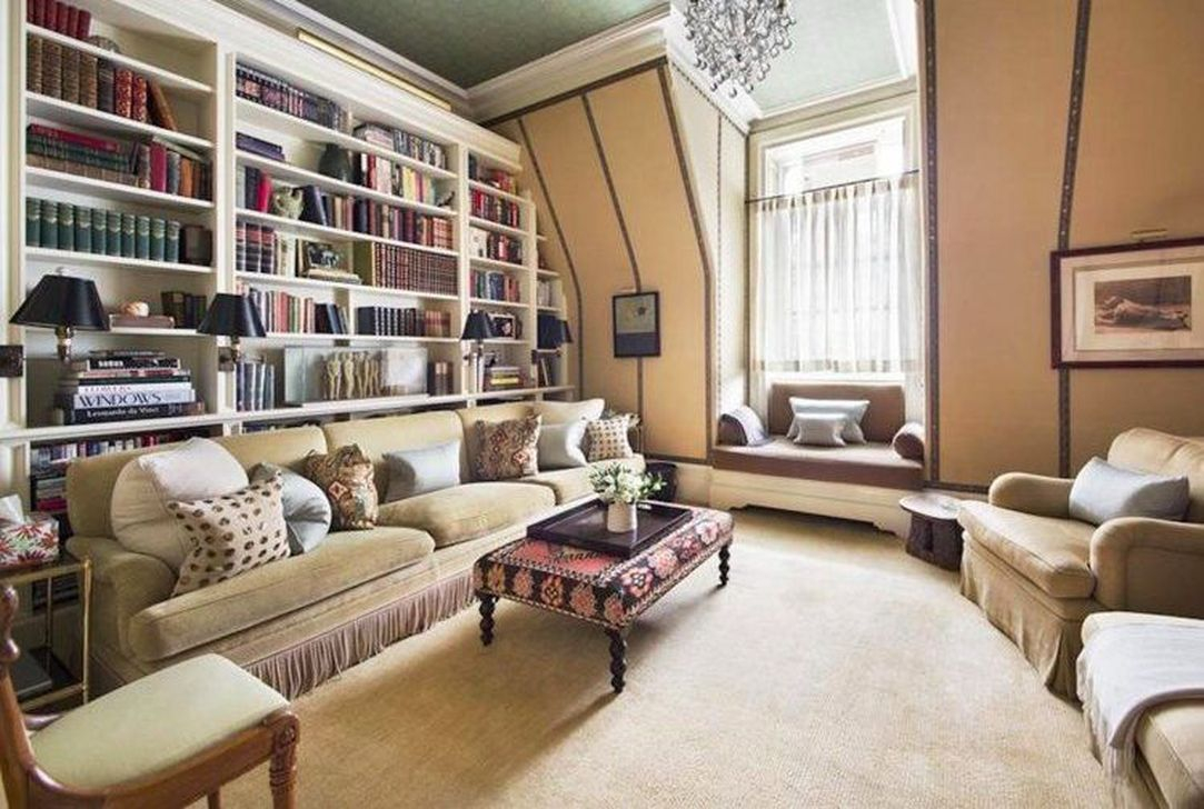 Smart Library Design Ideas For Home To Add To Your List 12