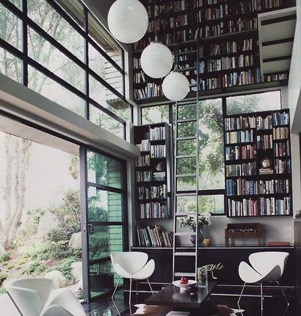 Smart Library Design Ideas For Home To Add To Your List 14