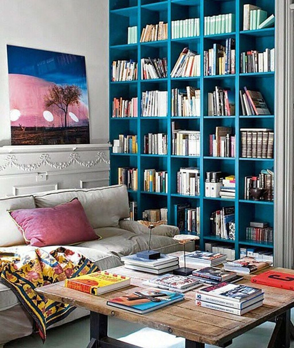 Smart Library Design Ideas For Home To Add To Your List 16